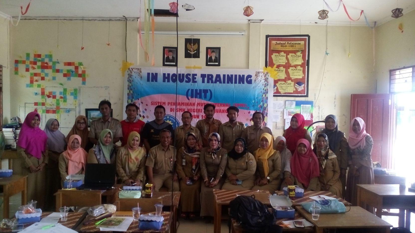 Kegiatan IHT Sistem Penjaminan Mutu Pendidikan (SPMI) Tahun 2017