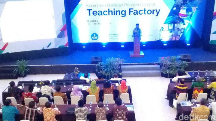 Mendikbud Dorong SMK Se-Indonesia Melek Teaching Factory