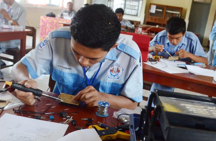 Tak Hanya Akademik, Siswa SMK Harus Siap Kerja
