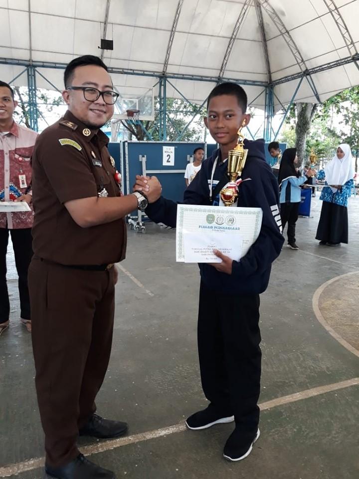 Siswa SMKN 1 Binuang Raih Juara 1 Tenis Meja Tk. Kabupaten Tapin