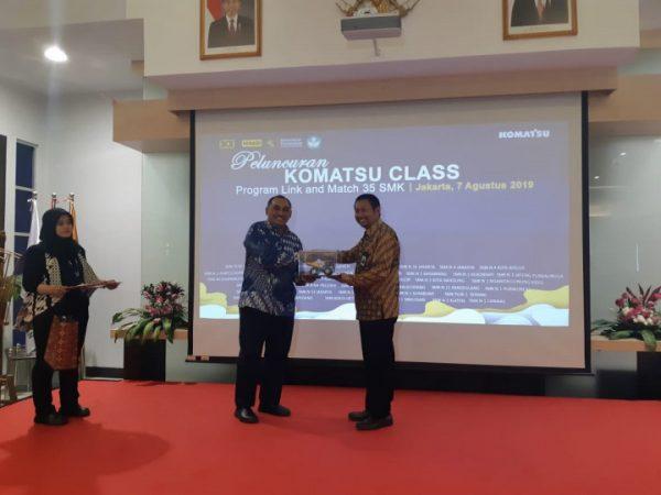 Peluncuruan Program Komatsu Class untuk 35 SMK Terpilih