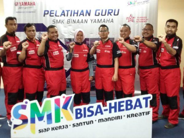 Yamaha Technical Academy (YTA) Gelar 'Train to Trainer' Level 2 untuk Guru SMK se-Indonesia
